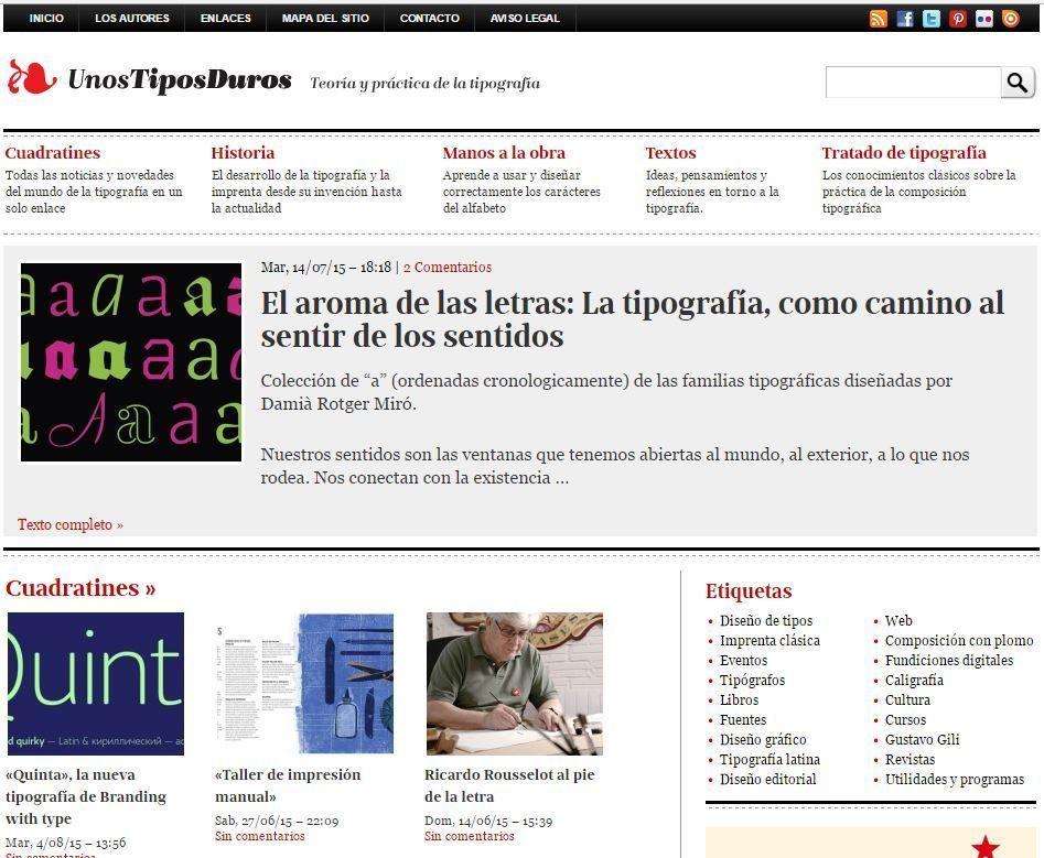 Sitios web recomendados para editores - Máster en edición