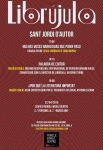 SANT JORDI D'AUTOR 22 ABRIL
